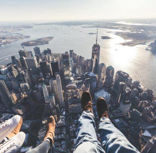 Wolkenkratzer Blickwinkel